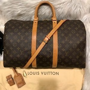 Authentic Louis Vuitton Keepall 45 #5.8K